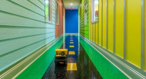 Little Einsteins Learning Center Main Hallway