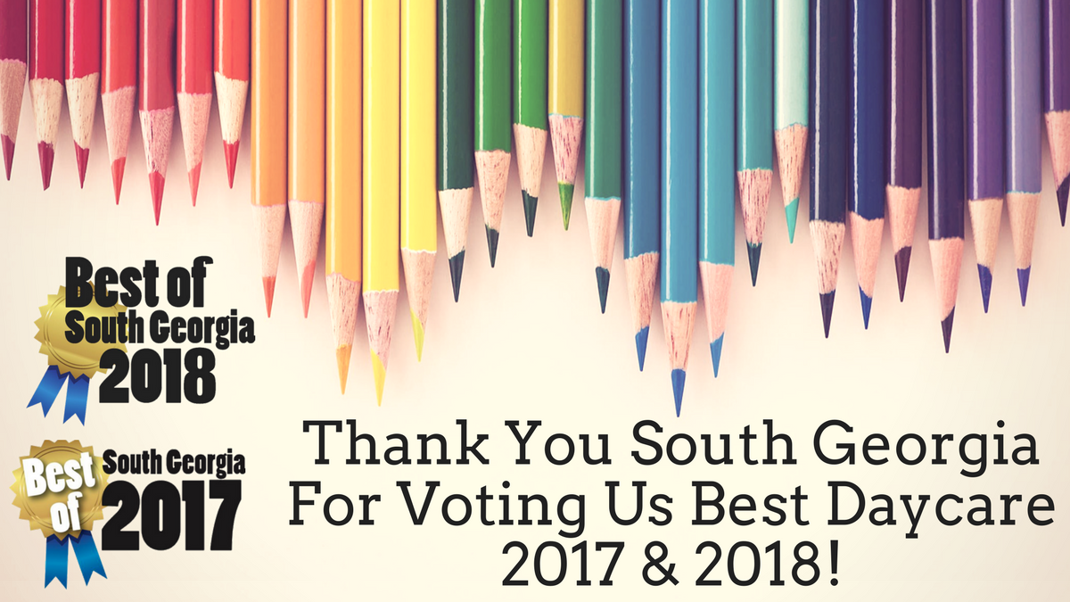 Thank You For Voting Us Best Daycare of 2017 and 2018